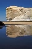 bluff;bluffs;calm;cliff;cliffs;coast;coastal;coastal-erosion;coastline;coastlines;coasts;Dunedin;N.Z.;New-Zealand;NZ;ocean;oceans;Otago;Pacific-Ocean;placid;quiet;reflection;reflections;S.I.;sandstone;sea;sea-cliff;sea-cliffs;seas;serene;shore;shoreline;shorelines;shores;SI;smooth;South-Is;South-Is.;South-Island;still;tranquil;Tunnel-Beach;water