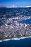 city;aerials;section;sea;surf;beach;urban-sprawl;populated