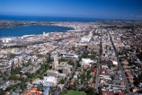 aerial;aerials;dunedin;campus;otago;city;town;urban-sprawl;populated;CBD;central-business-district;main-street;layout;cityscape;university-of-otago;otago-university;university;george-st;otago-harbour;harbours;harbor;harbors;pacific-ocean