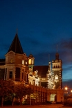 1906;architectural;architecture;building;buildings;dark;Dunedin;Dunedin-Railway-Station;dusk;evening;Flemish-Renaissance-style;flood-light;flood-lights;flood-lit;floodlit;George-A-Troup;Gingerbread-George;heritage;historic;historic-building;historic-buildings;Historic-Railway-Station;historical;historical-building;historical-buildings;history;light;lighting;lights;N.Z.;New-Zealand;night;night-time;night_time;nightfall;nighttime;NZ;old;Otago;rail;rail-station;rail-stations;railroad;railroads;rails;railway;railway-station;railway-stations;railways;S.I.;SI;South-Is;South-Is.;South-Island;Sth-Is;tail-lights;tradition;traditional;train-station;train-stations;transport;transportation;twilight