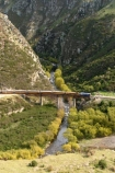 bridge;bridges;viaduct;viaducts;train;trains;carriage;carriages;historic;historical;high;yellow;steel;rail;excursion;tourism;transport;travel;rail;taieri-gorge-train;taieri-river;taieri-gorge;travel;deep-stream-viaduct;dunedin;south-island;new-zealand
