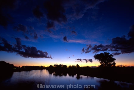 sunset;twilight;dusk;sun;sky;clouds;color;colours;colors;colour;orange;blue;rivers;water;watercourse