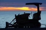 break-of-day;bulldozer;bulldozers;dawn;dawning;daybreak;dozer;dozers;first-light;Hawke-Bay;Hawkes-Bay;Hawkes-Bay;little-bulldozer;little-bulldozers;morning;N.I.;N.Z.;Napier;New-Zealand;NI;North-Is;North-Is.;North-Island;NZ;orange;Pacific-Ocean;silhouette;silhouettes;sunrise;sunrises;sunup;tractor;tractors;twilight