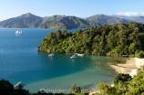 bay;bays;Becks-Bay;coast;coastal;coastline;Grove-Arm;Marlborough;Marlborough-Sounds;moor;mooring;moorings;New-Zealand;Queen-Charlotte-Sound;South-Island;Spirit-of-Adventure;Spirit-of-New-Zealand;Whenuanui-Bay