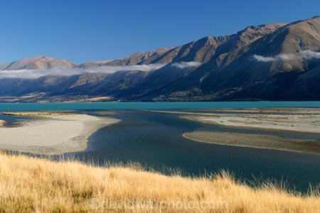 autumn;blue;braided-river;calm;calmness;clean;clear;cloud;clouds;Daytime;Exterior;fall;grass;high-country;hopkins-river;idyllic;lake;lake-ohau;lakes;mackenzie;mackenzie-country;mountain;mountains;Nature;new-zealand;ohau;ohau-range;Outdoor;Outdoors;Outside;Peaceful;Peacefulness;pure;Quiet;Quietness;river;rivers;Scenic;Scenics;silence;south-island;tranquil;tranquility;transparent;waitaki;waitaki-district;water