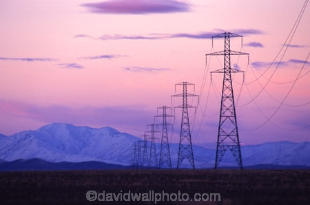 cable;cables;color;colour;dusk;industrial;industry;line;lines;mountains;network;pink;power;power-lines;pylon;pylons;snow;twilight;voltage;winter;wire;wires