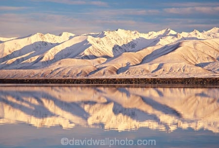 alpine;canals;electricity-generation;hydro-power;meridian;mountain;mountains;New-Zealand;power-scheme;reflection;reflections;snow;southern-alps;water;winter