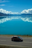 Aoraki;Aotearoa;calm;Canterbury;car;cars;cloud;clouds;highway;highways;lake;Lake-Pukaki;lakes;Mackenzie-Country;Mackenzie-District;Mackenzie-Region;Mount-Cook;Mt-Cook;Mt.-Cook;N.Z.;New-Zealand;NZ;reflection;reflections;road;roads;South-Canterbury;South-Is;South-Island;State-Highway-8;State-Highway-Eight;state-highways;Sth-Is;still;vehicle;vehicles