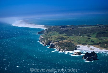 aerial;aerials;bars;beach;beaches;cape-farewell;coast;coast-line;coastal;coastline;conservation-reserve;farewell-spit;new-zealand;ocean;sand;sand-bar;sand-storm;sea;shore;shore-line;shoreline;south-island;spit;spits;tasman-sea;west-coast;Wharariki-Beach;wind;windy