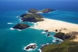 aerial;aerials;beach;beaches;blue;Cape-Maria-van-Diemen;Cape-Reinga;coast;coastal;coastline;Far-North;new-zealand;north-is.;north-island;northland;ocean;sand;sandy;scenic;sea;shore;shoreline;tasman-sea;water;waterside;waves