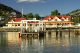 architecture;Bay-of-Islands;dawn;dock;dockside;Early-light;Fullers;Fullers-Building;holiday;holidaying;holidays;jetties;jetty;new-zealand;north-is.;north-island;Northland;ocean;Paihia;pier;piers;reflection;reflections;sea;seaside;settlement;sunrise;tourism;tourist;township;travel;traveling;travelling;vacation;vacationing;vacations;waterside;wharf;wharfes;wharves