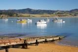 bay;bays;beach;beaches;boat-ramp;boat-ramps;coast;coastal;coastline;coastlines;coasts;fishing-boat;fishing-boats;foreshore;Moeraki;Moeraki-Fishing-Village;N.Z.;New-Zealand;North-Otago;NZ;ocean;Pacific-Ocean;rail;rails;S.I.;sea;seaside-town;seaside-towns;seaside-village;seaside-villages;sheltered-bay;shore;shoreline;shorelines;shores;SI;slipway;slipways;South-Is;South-Island;Waitaki-District;Waitaki-Region;water