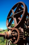 abandoned;Bendigo-Goldfields;cog-wheels;cogs;crush;crusher;deserted;discovered;gold;gold-fields;gold-mining;gold-rush;gold-towns;goldfields;goldminers;goldmining;goldrush;machine;machinery;miners;quartz;quartz-crushing;quartz-reefs;ruin;rust;rusted;rusty;shaft;stamp;stamper;stamping