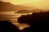 sunset;sunsets;twilight;dusk;bay;bays;inlets;peninsula;peninsulas;headland;headlands;patterson