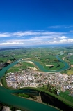 hydro;electric;power;electricity;river;town;township;village;rural;service-town;farming-town;community;Southern-Scenic-Route;aerials