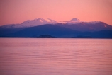 aqua;calm;dusk;evening;lake;lake-surface;lakes;late-afternoon;mountain;mountains;pink;range;ranges;sunset;surface;traquil;water