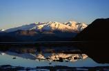 reflect;reflecting;reflection;dusk;dawn;silhouette;snow;snow-cap;snow-caps;snow_caps;snow-capped;snow-capped;snow_capped;mountain;mountains;tranquil;still;stillness;calm;peaceful