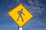 crossing;N.Z.;New-Zealand;NZ;pedestrian;pedestrian-crossing;pedestrians;People-Walking-Sign;person;S.I.;SI;sign;signs;South-Island;walk;walker;walkers;walking;walks;warning;warning-sign;warning-signs;warnings;West-Coast;Westland;yellow