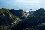 10-Mile-Creek;aerial;aerial-photo;aerial-photograph;aerial-photographs;aerial-photography;aerial-photos;aerial-view;aerial-views;aerials;bend;bends;coast;coastal;coastline;coastlines;coasts;corner;corners;curve;curves;curvey;driving;highway;highways;N.Z.;New-Zealand;NZ;ocean;open-road;open-roads;road;road-trip;roads;S.I.;sea;shore;shoreline;shorelines;shores;SI;South-Island;State-Highway-6;State-Highway-Six;Tasman-Sea;Ten-Mile-Creek;transport;transportation;travel;traveling;travelling;trip;Waianiwaniwa;water;West-Coast;Westland