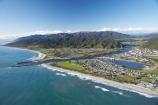 aerial;aerial-photo;aerial-photograph;aerial-photographs;aerial-photography;aerial-photos;aerial-view;aerial-views;aerials;beach;beaches;Blaketown;coast;coastal;coastline;coastlines;coasts;Cobden;Cobden-Hill;Cobden-Island;Erua-Moana-Lagoon;Grey-River;Grey-River-Bar;Grey-River-Mouth;Greymouth;Greymouth-Bar;Greymouth-Harbour-Bar;Mawheranui;N.Z.;New-Zealand;NZ;ocean;oceans;Rapahoe-Range;river;rivers;S.I.;sand;sandy;sea;seas;shore;shoreline;shorelines;shores;SI;South-Island;surf;Tasman-Sea;Twelve-Apostles-Range;water;wave;waves;West-Coast;Westland