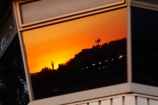 airport-control-tower;airport-control-towers;Chile;Club-de-Planeadores-de-Santiago;control-tower;control-towers;dusk;evening;glass;Municipal-de-las-Condes;Municipal-de-Vitacura;nightfall;orange;reflect;reflection;reflections;Santiago;SCLC;sky;South-America;Sth-America;sunset;sunsets;twilight;Vitacura-Airfield;Vitacura-Airport;window