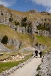 bluff;bluffs;Britain;British-Isles;cliff;cliffs;England;Europe;G.B.;GB;Gordale-Scar;Great-Britain;hiker;hikers;Malham;mountainside;mountainsides;North-Yorkshire;Northern-England;people;person;steep;Track;tracks;U.K.;UK;United-Kingdom;walker;walkers;walking-track;walking-tracks;Yorkshire;Yorkshire-Dales;Yorkshire-Dales-National-Park