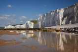 beach;beaches;Birling-Gap;Birling-Gap-Beach;bluff;bluffs;Britain;British-Isles;calm;chalk-cliff;chalk-cliffs;chalk-downland;chalk-downlands;chalk-downs;chalk-formation;chalk-formations;chalk-headland;chalk-headlands;chalk-layer;chalk-layers;cliff;cliffs;coast;coastal;coastline;coastlines;coasts;Cretaceous-chalk-layer;down;downland;downlands;downs;East-Sussex;England;English;English-Chanel;eroded;erosion;Europe;foreshore;formation;formations;G.B.;GB;geological;geological-formation;geological-formations;geology;Great-Britain;image;images;layer;layering;layers;limestone;low-tide;low-tides;natural;natural-landscape;natural-landscapes;ocean;oceans;photo;photos;placid;quiet;reflection;reflections;rock-formation;rock-formations;S.E.-England;SE-England;sea;seas;sedimentary-layer;sedimentary-layers;serene;Seven-Sisters;Seven-Sisters-Cliffs;Seven-Sisters-Country-Park;shore;shoreline;shorelines;shores;smooth;South-Downs;South-Downs-N.P.;South-Downs-National-Park;South-Downs-NP;South-East-England;Southern-England;steep;still;stone;strata;stratum;Sussex;The-Seven-Sisters;tidal;tide;tides;tranquil;U.K.;UK;United-Kingdom;unusual-natural-feature;unusual-natural-features;unusual-natural-formation;unusual-natural-formations;water;white-chalk-cliff;white-chalk-cliffs;White-Cliff;white-cliffs