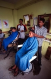 Barber-Shop;barber;shop;Sigatoka;Fiji;Fijian;blue;yellow;person;people;hair;cut;cutting;cutter;cutters;trimmer;trimmers;seat;sit;sitting;seated;stand;standing;work;job;working;customer;customers;client;clients;clientele;service