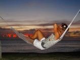 coast;coastal;coastline;coastlines;coasts;Coral-Coast;dusk;evening;female;Fij;Fiji-Islands;foreshore;hammock;hammocks;Korotogo;nightfall;ocean;Pacific;Pacific-Ocean;people;person;sea;shore;shoreline;shorelines;shores;Sigatoka;sky;South-Pacific;sunset;sunsets;tourism;tourist;tourists;tropical-island;tropical-islands;twilight;Viti-Levu;Viti-Levu-Island;water;woman;women