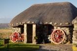 A855;An-t_Eilean-Sgitheanach;Britain;Duntulm;Eilean-Che�;G.B.;GB;grass-roof;Great-Britain;Highlands;Hungladder;Inner-Hebrides;Island-of-Skye;Isle-of-Skye;museum;Museum-of-Island-Life;museums;roof;roofing-material;roofs;rooves;Scotland;Scottish-Highands;Skye;stone-building;stone-buildings;straw-roof;straw-rooves;thatch;thatched;thatched-cottage;thatched-cottages;thatched-house;thatched-houses;thatched-roof;thatched-roofs;thatched-rooves;thatching;The-Skye-Museum-of-Island-Life;traditional-thatched-cottage;traditional-thatched-cottages;Trotternish-Peninsula;U.K.;UK;United-Kingdom