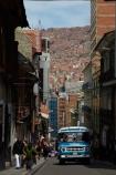 Bolivia;Bolivian-Bus;bus;buses;capital;Capital-of-Bolivia;Chuqi-Yapu;cities;city;La-Paz;Latin-America;micros;motorbus;motorbuses;narrow-street;narrow-streets;Nuestra-Señora-de-La-Paz;omnibus;omnibuses;passenger-bus;passenger-buses;passenger-transport;public-transport;public-transportation;South-America;steep-street;steep-streets;Sth-America;street-scene;street-scenes;The-Americas;traditional-bus;transportation