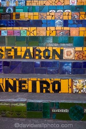 art;art-work;art-works;Brasil;Brazil;ceramic;ceramic-tiles;Escadaria-Selaron;Escadaria-Selarón;famous-stairs;famous-steps;Jorge-Selarón;Lapa;Latin-America;mosaic;mosaic-tiles;mosaics;public-art;public-art-work;public-art-works;Rio;Rio-de-Janeiro;Selaron-Steps;South-America;stair;stairs;stairway;stairways;step;steps;Sth-America;tile;tiles