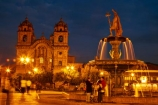 basilica;basilicas;building;buildings;catedral;cathedral;cathedrals;christian;christianity;church;Church-of-the-Society-of-Jesus;churches;colonial-baroque-architecture;colonial-baroque-style;Cusco;Cuzco;dark;dusk;evening;faith;fountain;fountains;golden-statue;heritage;historic;historic-building;historic-buildings;historical;historical-building;historical-buildings;history;Iglesia-de-la-Compania;Iglesia-De-La-Compania-De-Jesus;Iglesia-de-la-Compañía;Iglesia-de-la-Compañía-de-Jesús;Inca-fountain;Inca-King;Inca-statue;Inca-statues;Jesuit-church;Jesuit-churches;Latin-America;light;lighting;lights;Manco-Capac-Fountain;Manco-Capec-statue;night;night-time;night_time;Ninth-Inca;old;Pachacutec;Pachacuti;Parade-Square;people;Peru;place-of-worship;places-of-worship;plaza;Plaza-de-Armas;Plaza-Mayor;Plaza-Mayor-del-Cusco;Plaza-Mayor-del-Cuzco;plazas;religion;religions;religious;Republic-of-Peru;South-America;Square-of-the-Warrior;statue;statues;Sth-America;tourism;tourist;tourists;tradition;traditional;travel;twilight;UN-world-heritage-area;UN-world-heritage-site;UNESCO-World-Heritage-area;UNESCO-World-Heritage-Site;united-nations-world-heritage-area;united-nations-world-heritage-site;water;water-feature;water-features;Weapons-Square;world-heritage;world-heritage-area;world-heritage-areas;World-Heritage-Park;World-Heritage-site;World-Heritage-Sites