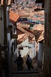 alley;alleys;alleyway;alleyways;cobble_stoned;cobble_stoned-street;cobbled;cobbles;cobblestoned;cobblestoned-road;cobblestoned-roads;cobblestoned-street;cobblestoned-streets;cobblestones;Cusco;Cuzco;Latin-America;narrow-street;narrow-streets;people;person;Peru;Peruvian;Peruvians;Republic-of-Peru;Resbalosa;road;roads;roof;roofs;rooves;South-America;stair;stairs;stairway;stairways;steep;steep-street;steep-streets;step;steps;Sth-America;street;streets