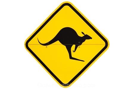 australasia;australia;australian;kangaroo;Kangaroo-Warning-Sign;kangaroos;nature;Road;road-sign;road-signs;road_sign;road_signs;roads;roadsign;roadsigns;sign;signs;symbol;symbols;tranportation;transport;travel;warn;warning;wildlife;yellow-black;cutout